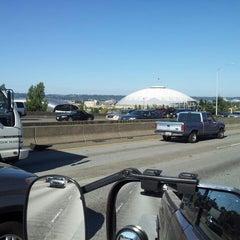 Photo taken at Tacoma Dome by Papa John on 8/20/2013