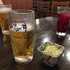 Photo taken at もつやき処 い志井 本店 by まんじゅ on 7/28/2015