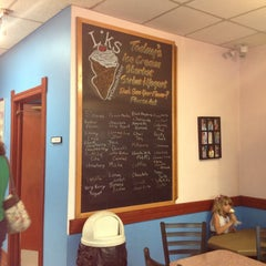 Photo taken at Liks Ice Cream by Shaina on 5/31/2013