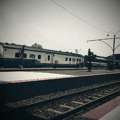 Photo taken at Stasiun Purwokerto by Nurtina Rahma F. on 5/5/2013