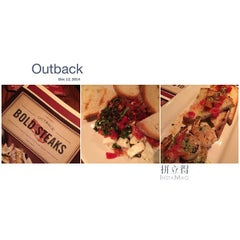 Photo taken at Outback Steakhouse by Scott K. on 12/13/2014