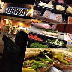 Photo taken at Subway by Maria Engeline O. on 5/13/2014