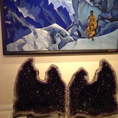 Photo taken at Nicholas Roerich Museum by Lara M. on 3/2/2014