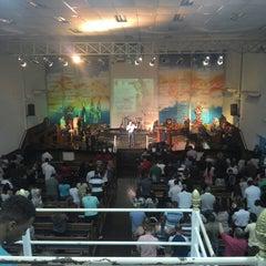 Photo taken at Igreja Batista em Renovação Espiritual Nova Jerusalém by Timóteo C. on 9/12/2013