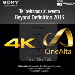 Photo taken at CineMundo by Sebastian on 7/26/2013