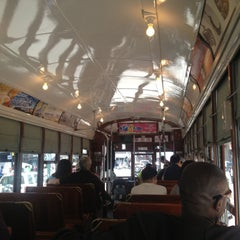 Photo taken at St. Charles Avenue Streetcar by Michael P. on 5/4/2013