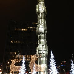 Photo taken at Sergels Torg by vrodekrab on 12/30/2012