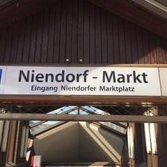Photo taken at U Niendorf Markt by Lars on 6/8/2015