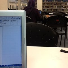Photo taken at UMS Library by Umar C. on 3/3/2013