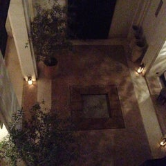 Photo taken at Riad Azzouna 13 by Arjen N. on 9/28/2014