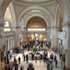 Photo taken at The Great Hall at The Metropolitan Museum of Art by Oscar R. on 11/18/2012