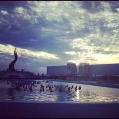 Photo taken at Parque Guanajuato Bicentenario by Aleh on 11/24/2012