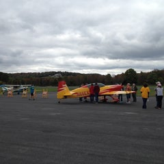 Photo taken at Pottstown Municipal Airport (N47) by Brandie on 9/29/2012