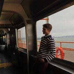 Photo taken at Staten Island Ferry Boat - Spirit Of America by Emily M. on 4/1/2013