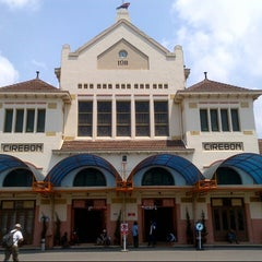 Photo taken at Stasiun Cirebon Kejaksan by FENDI NOOR on 4/10/2013