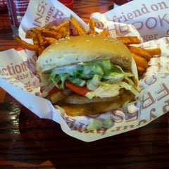 Photo taken at Red Robin Gourmet Burgers by Kristen H. on 9/18/2012