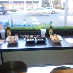 Photo taken at Rollbotto Sushi by Joshua P. on 11/12/2012