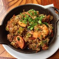 Photo taken at Toulouse Petit Kitchen & Lounge by Richard W. on 10/24/2012