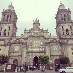 Photo taken at Catedral Metropolitana de la Asunción de María by Javier O. on 10/24/2013