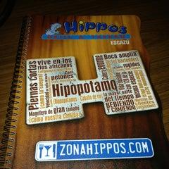 Photo taken at Hippos by Sarah U. on 3/2/2013