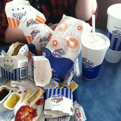 Photo taken at White Castle by Erin on 4/19/2013