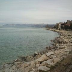 Photo taken at Eğirdir by Yazabilen Y. on 3/7/2013