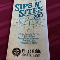 Photo taken at Philadelphia Bar and Restaurant by UCP P. on 9/26/2013
