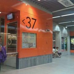 Photo taken at Metro Moncloa by Jose Luis P. on 10/12/2011