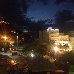Photo taken at Morfeas Hotel by Beyza A. on 9/8/2014