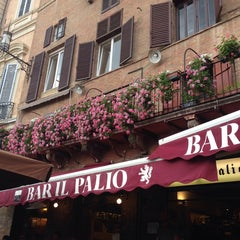 Photo taken at Bar il Palio by Isin on 6/1/2014