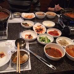 Photo taken at Cho Sun Gal Bi Korean BBQ & Sushi Bar by Brian on 12/25/2013