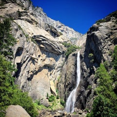 Photo taken at Lower Yosemite Falls by Jian A. on 7/12/2015