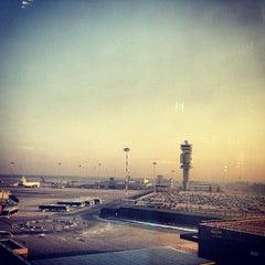 """Photo taken at Aeroporto di Milano Malpensa """"Città di Milano"""" (MXP) by Alina on 2/16/2013"""
