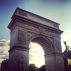Photo taken at Washington Square Park by Annie S. on 6/19/2013