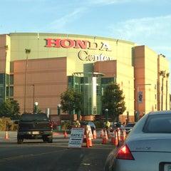 Photo taken at Honda Center by Vicky . on 4/4/2013