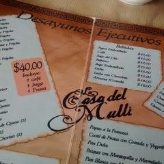 Photo taken at La Casa Del Mulli by Javo V. on 5/31/2014