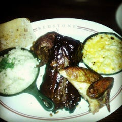 Photo taken at Redstone American Grill by Isadore C. on 9/24/2012