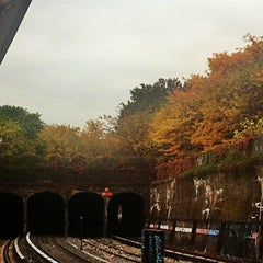 Photo taken at MTA Subway - 20th Ave (N) by QQ W. on 10/27/2012