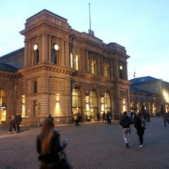 Photo taken at Mainz Hauptbahnhof by Serhat A. on 3/6/2013