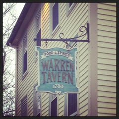 Photo taken at Warren Tavern by Bri S. on 1/11/2013