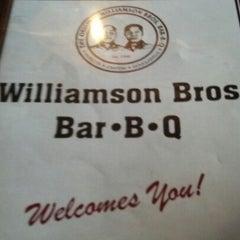 Photo taken at Williamson Bros Bar-B-Q by George L. on 9/14/2012