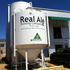 Photo taken at Real Ale Brewing Company by Daniel on 3/15/2013