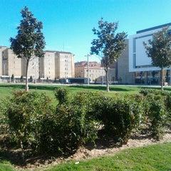 Photo taken at Plaza De La Concordia by Carmen M. on 10/9/2012