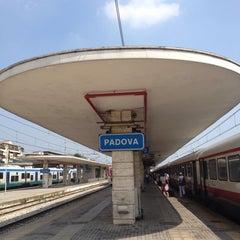 Photo taken at Stazione Padova by Linda . on 7/26/2013