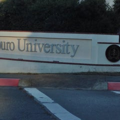 Photo taken at Touro University California by Crystal J. on 12/12/2013