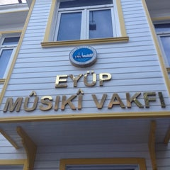 Photo taken at Eyup Musiki Cemiyeti by Sureyya on 5/2/2014
