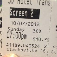 Photo taken at Regal Cinemas Clarksville 16 by Kim on 10/7/2012