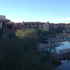 Photo taken at Sheraton Wild Horse Pass Resort & Spa by Mark Z. on 10/21/2012
