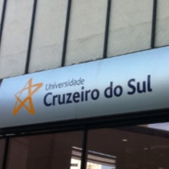 Photo taken at Universidade Cruzeiro do Sul - Campus Liberdade by Nalfranio S. on 2/24/2013