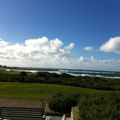 Photo taken at Spanish Bay Golf Course by Andrey on 1/10/2013